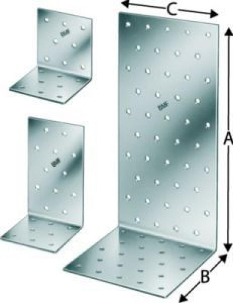Simpson Strong-Tie Winkelverbinder 100x100x2,5x100 EAN - ANP251010100