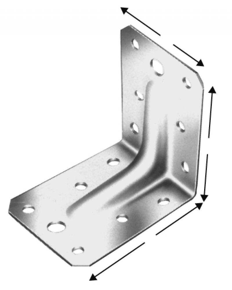 Simpson Strong-Tie Angle Bracket ABR - Carpentry necessities