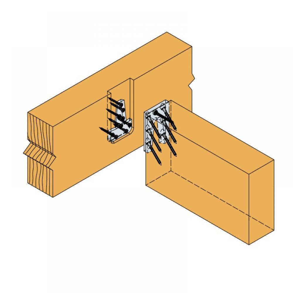 Passverbinder Etb Unsichtbare Holzverbinder