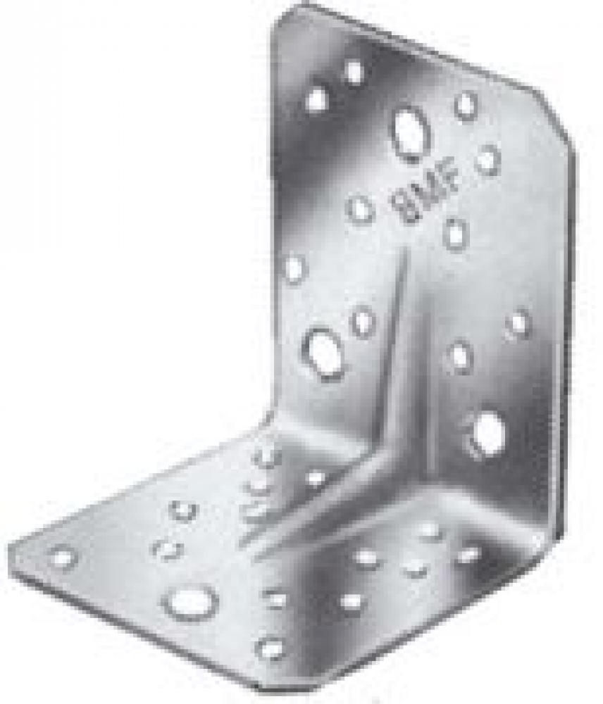 Simpson strong tie angle bracket with ridge stainless