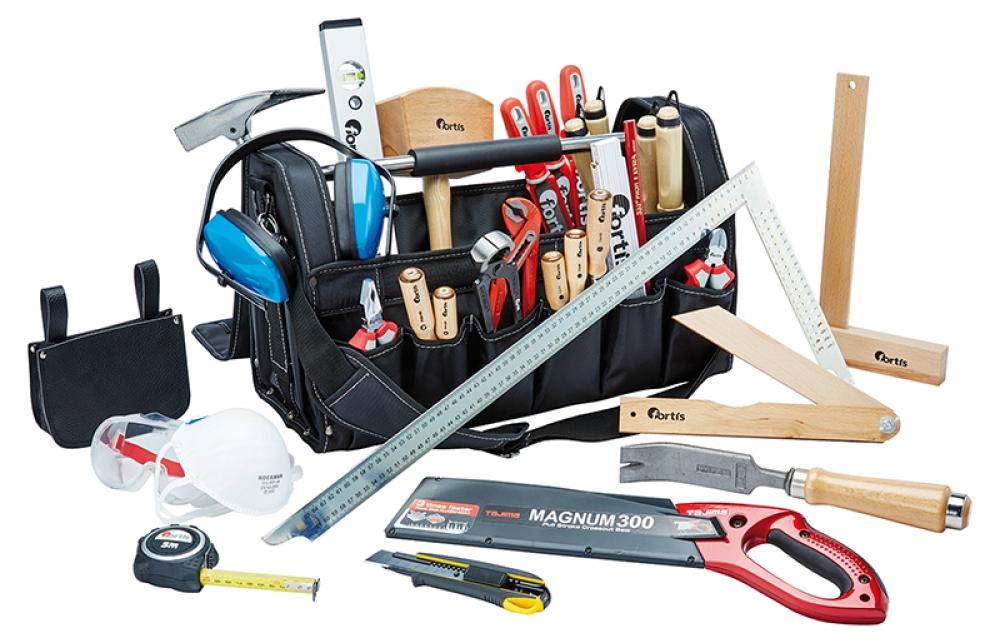 Zimmerer werkzeug set  Zimmerer Erstausrüstung/ Lehrlingskoffer - Werkzeugsets