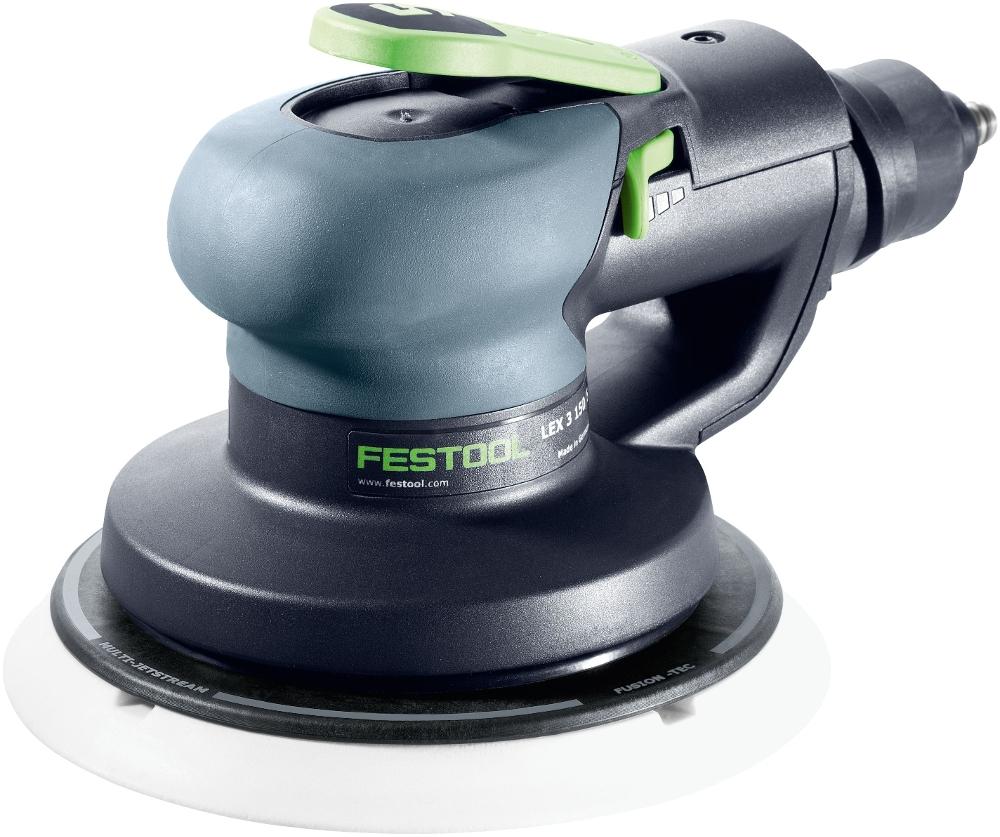 festool druckluft-exzenterschleifer lex 3 150/5 - air compressor sanders