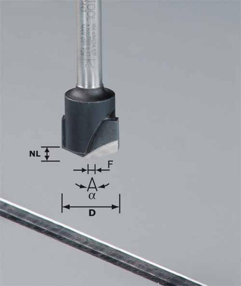 Festool V-Nutfräser - Aluminium - Milling cutters