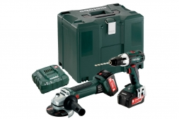 Metabo Akkuset Combo Set 2.4.1 18 V (685038000) MetaLoc