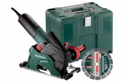 Metabo Winkelschleifer W 12-125 HD SET CED Plus