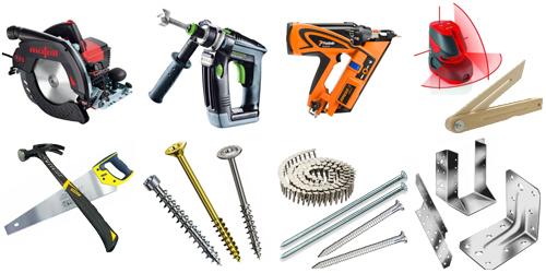 Zimmerer Werkzeug Set
